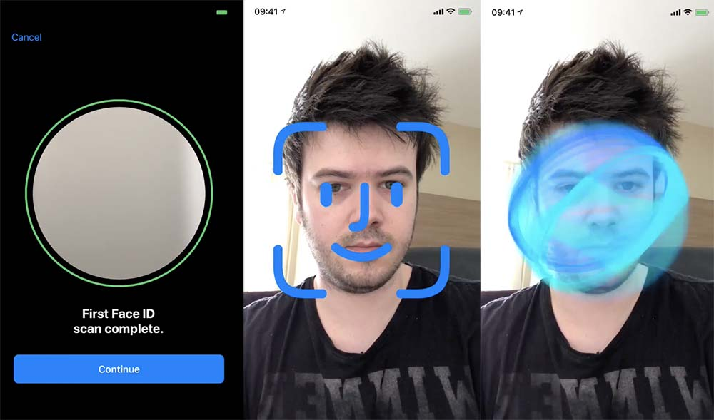 Face ID : la reconnaissance faciale en action sous iOS 11 GM [Vidéo]