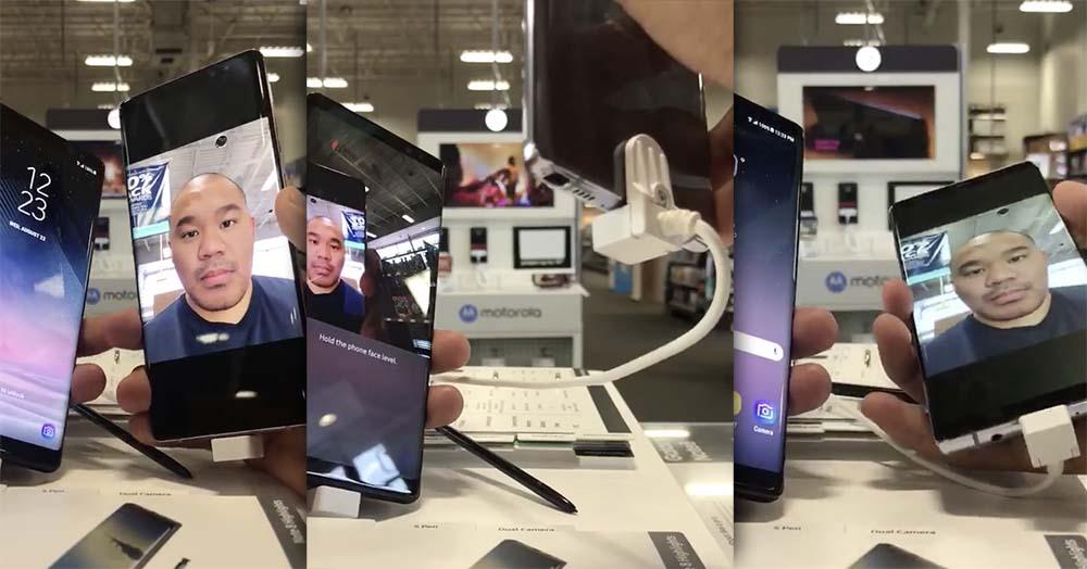 Galaxy Note8 : la reconnaissance faciale n'est pas très sécurisée [Vidéo]