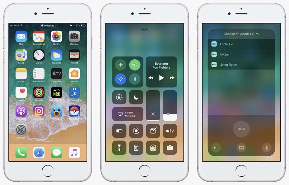 iOS 11 / tvOS 11 : la huitième bêta publique est disponible