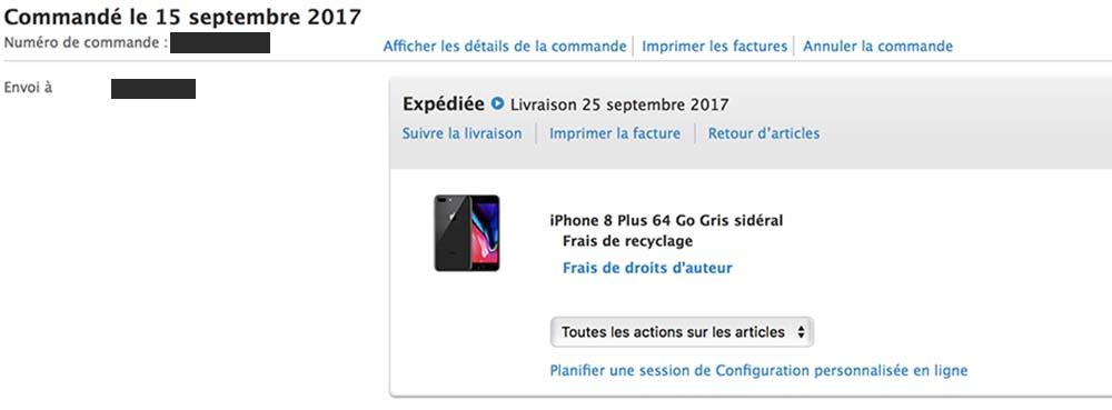 Les iPhone 8 / 8 Plus & Apple TV 4K sont maintenant expédiés !