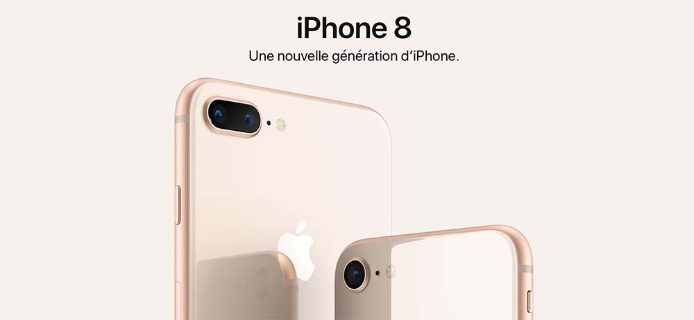 iPhone 8 / 8 Plus en précommande chez Apple, Boulanger, Darty, Fnac