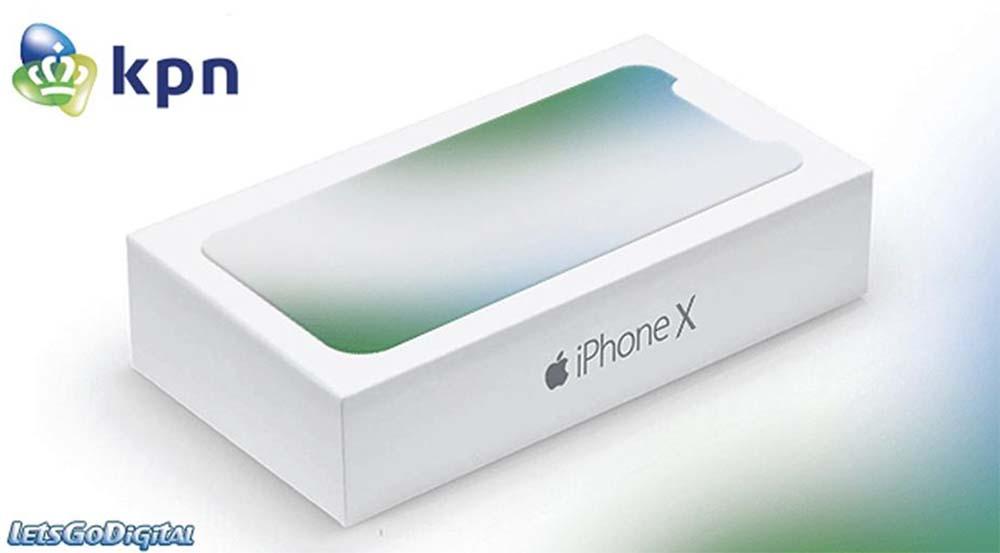 Finalement l'iPhone 8 s'appelle « iPhone X », voici la supposée boîte !