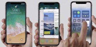 iPhone X : iOS 11.1 bêta 1 présente les gestuelles de l'écran de verrouillage et d'accueil