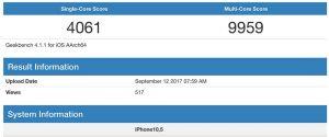iPhone X : le processeur A11 Fusion serait-il aussi performant ?