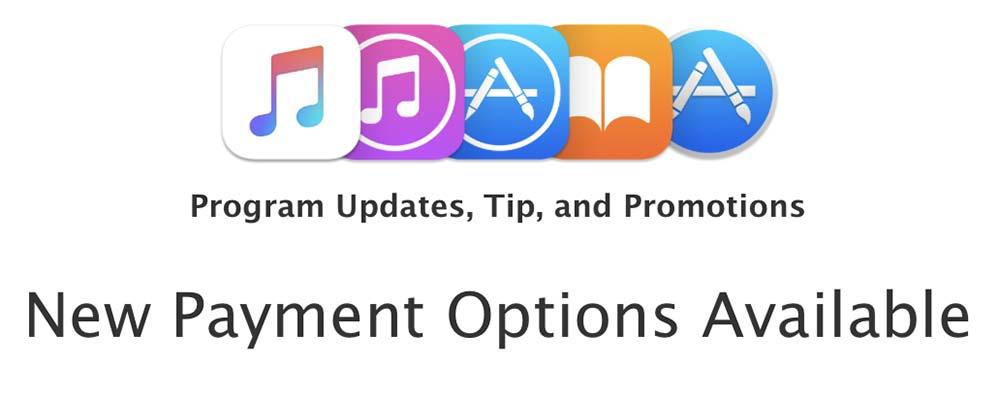 iTunes affiliates : les commissions peuvent être payées sous forme de crédit App Store et iTunes Store