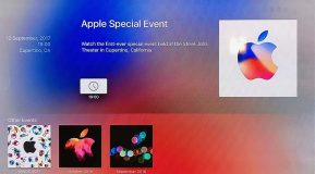 Keynote iPhone 8 : l'évènement s'affiche maintenant sur l'Apple TV