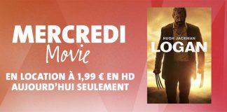 Mercredi Movie : le film « Logan » en location pour seulement 1,99 € en HD