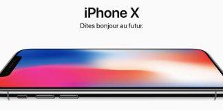 Les nouveaux iPhone X, iPhone 8 et iPhone 8 Plus sont chez Boulanger