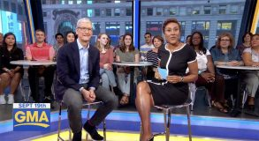 Pour Tim Cook, le lancement d'iOS 11 est « un jour mémorable »