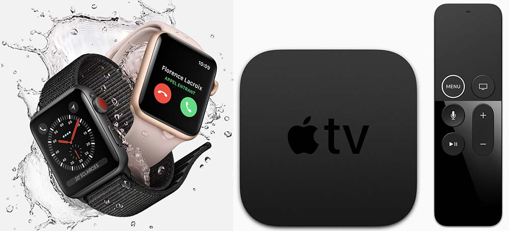 pr commande apple tv 4k et apple watch series 3 chez apple darty fnac et boulanger. Black Bedroom Furniture Sets. Home Design Ideas