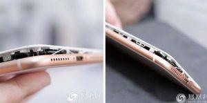 Quand certains iPhone 8 Plus chargent, ils peuvent s'ouvrir en deux !