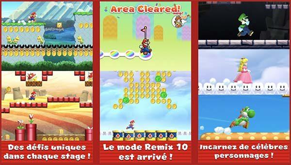 Super Mario Run à - 50 % avec de nombreuses nouveautés sur iOS