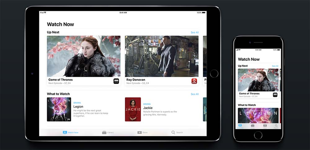 tvOS 11 : l'application TV est déjà disponible dans certains pays
