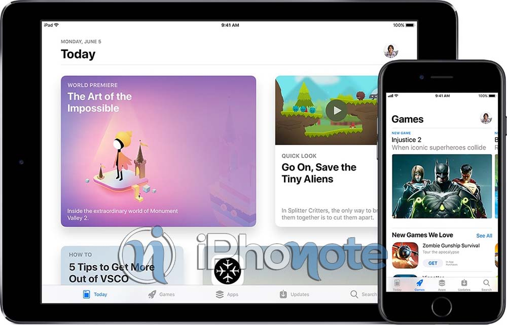 iOS 11 : Apple stoppe la promotion de l'App de la semaine