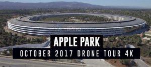 Apple Park : une nouvelle vue du ciel montre les derniers travaux en cours