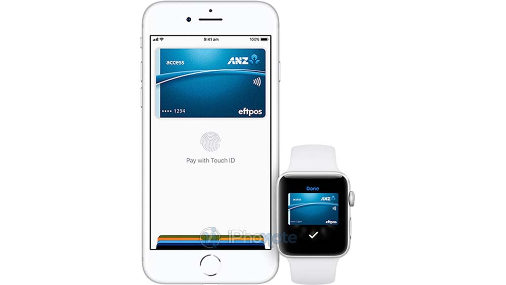 Apple Pay supporte maintenant les cartes Eftpos d'ANZ Bank en Australie