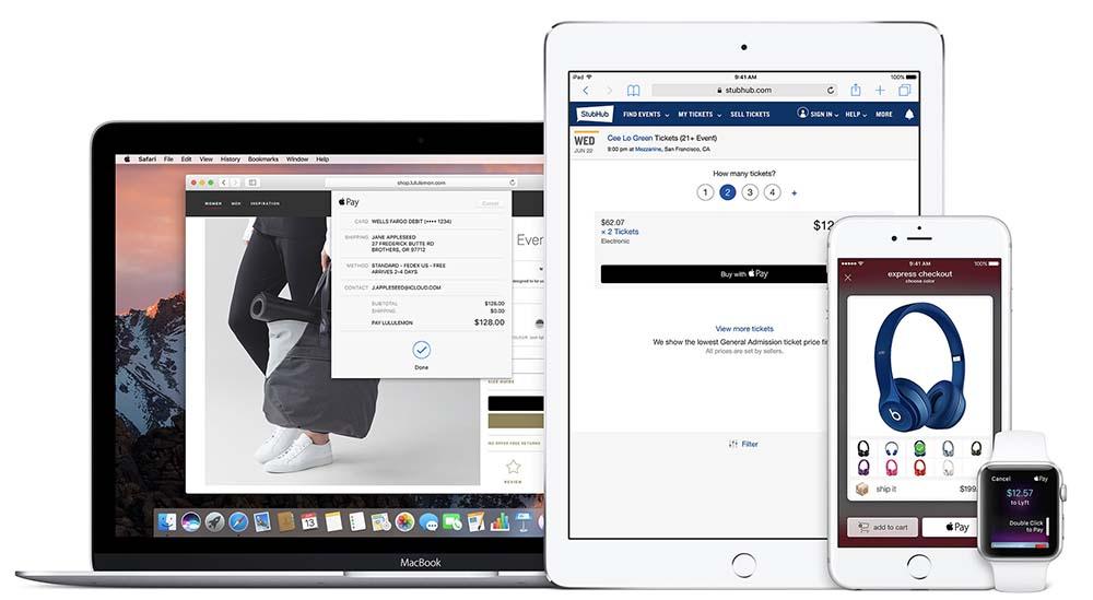 Apple Pay est désormais disponible dans 4 nouveaux pays