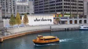 Apple a demandé à deux artistes de décorer le nouvel Apple Store à Chicago