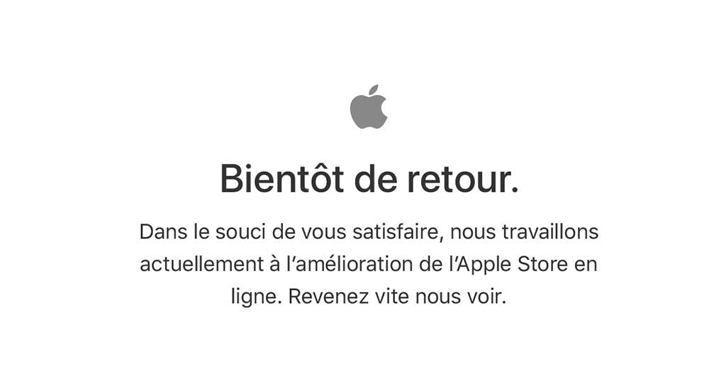 L'Apple Store fermé, bientôt à l'iPhone X d'ouvrir le bal des pré-commandes