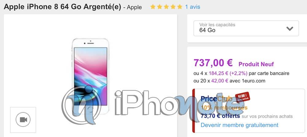 Bon Plan : iPhone 8 64Go à 680€, iPhone 7, Galaxy Note8, et plus encore