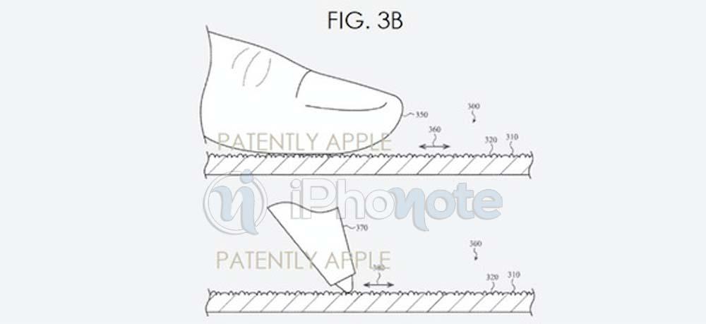 Brevet : Apple invente l'écran texturé pour iPhone / iPad et Mac