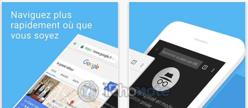 Chrome iOS : deux nouveaux widgets et ajout du glisser-déposer sur iPad