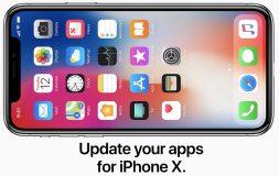 Les développeurs sont invités à adapter leurs apps au nouvel écran de l'iPhone X