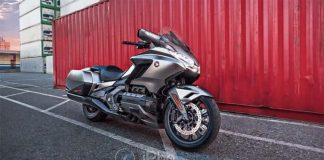 Honda : la Gold Wing 2018 sera la première moto avec CarPlay