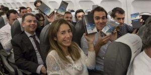Iberia Airlines : 200 Galaxy Note8 offerts à des passagers ! [Vidéos]