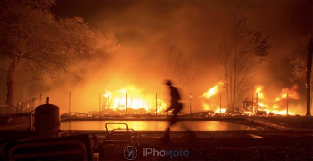 Incendie Californie : Apple a fait un don d'un million de dollars