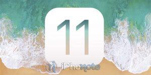 iOS 11.0.3 est disponible pour tout le monde