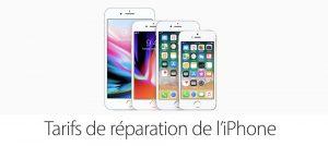iPhone X : Apple dévoile les tarifs de réparation hors garantie pour la France