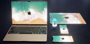 Après l'iPhone X, voici l'écran OLED borderless sur iPad, Apple Watch et Mac