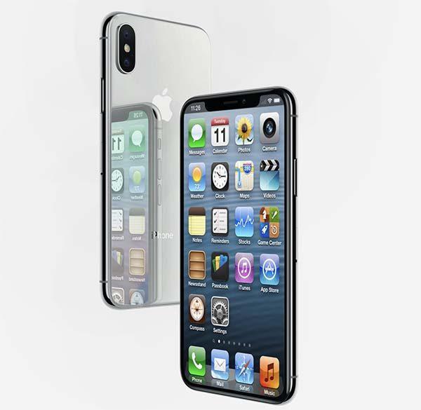 Voici l'iPhone X sous iOS 6 !