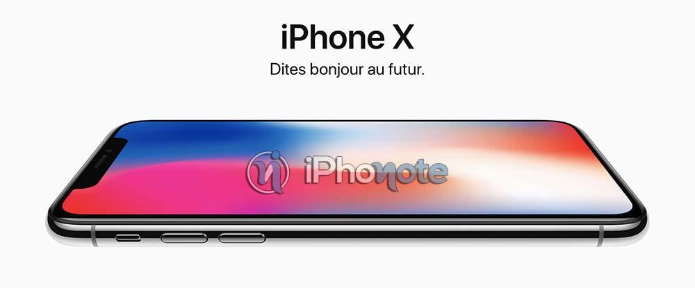 iPhone X : le délai de livraison passe à 4 - 5 semaines