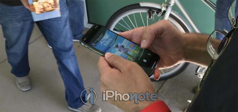 Encore un iPhone X dans la nature...avec une tentative de discrétion !