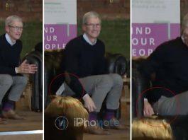 Quand l'iPhone X tombe de la poche de Tim Cook [Vidéo]