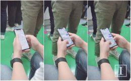 Un utilisateur se promène avec un iPhone X à Séoul [Photos]