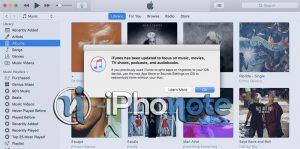 iTunes 12.6.3 disponible avec l'App Store et d'autres fonctionnalités