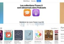 iTunes U 3.6 : Apple transfère les collections iTunes U vers l'app Podcasts