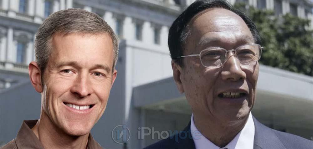 Jeff Williams et le PDG de Foxconn se sont rencontrés ce matin au sujet de l'iPhone X