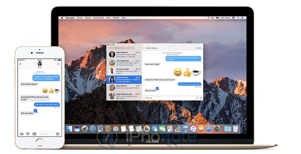 macOS High Sierra : un bug retarde la réception des iMessages