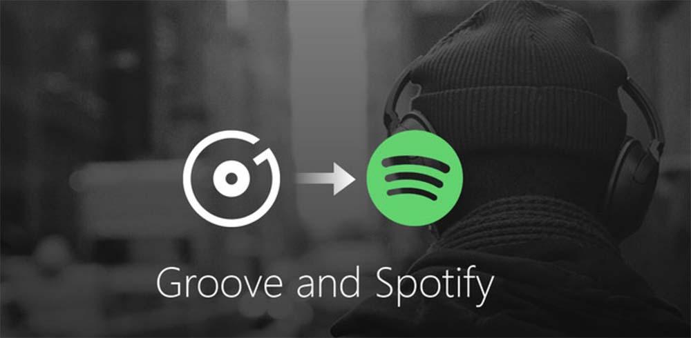 Microsoft stoppera Groove Music au profit de Spotify le 31 décembre