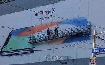 Le monde se met aux couleurs de l'iPhone X
