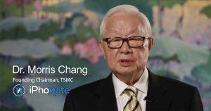 Morris Chang parle de l'avenir des processeurs de TSMC