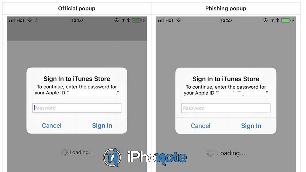 Phishing : attention aux faux pop-up Apple sur iOS