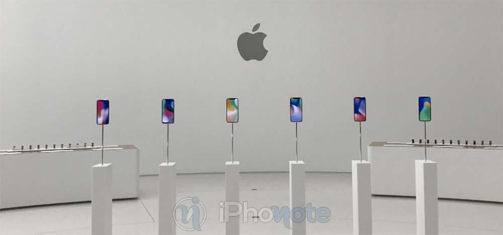 Voici des photos inédites de l'iPhone X capturées dans le Steve Jobs Theatre