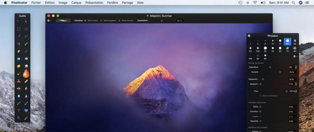 Pixelmator 3.7 : support de macOS High Sierra, des images HEIF et plus encore