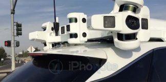Voici les radars LiDARS dédiés au système de conduite autonome d'Apple [Vidéo]