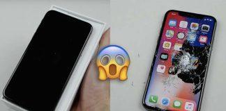 Mais qu'est-il arrivé à cet iPhone X ? [Vidéo]